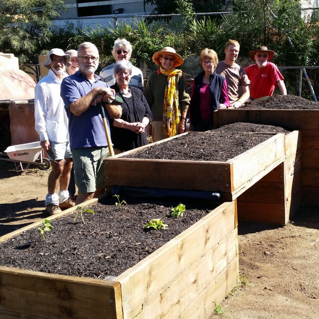 Raised Garden Beds at Yoorala St Community Garden